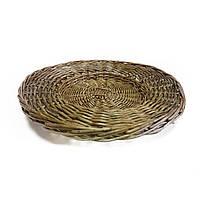 Тарелка плетённая Maravilla Коричневая