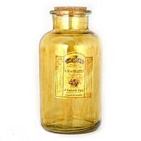 Бутылка декоративная 21 см Коричневая (1003155)
