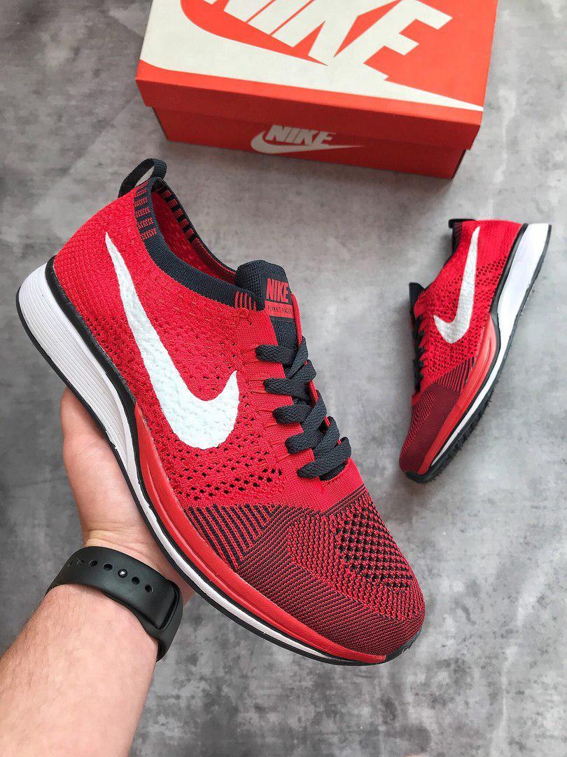 Мужские кроссовки Nike (красные), ТОП-реплика