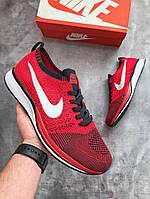 Мужские кроссовки Nike (красные), ТОП-реплика, фото 1