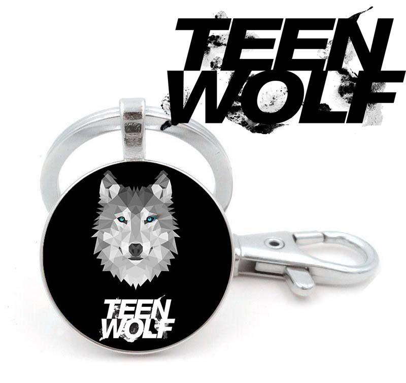 Брелок с волком и логотипом Teen Wolf Волчонок