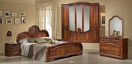 Спальня Щара СлонимМебель орех (шкаф 5-и дверный)