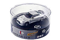 Машинка микро р/у 1:43 лиценз. Nissan GT-R (серый), фото 1