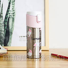 Термокружка с Фламинго 320мл