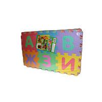 Коврик Мозаика Русский алфавит M 0378 EVA,,36шт,45-31см(M 0378)