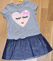 Платье для девочки с фатином р.104 р.104
