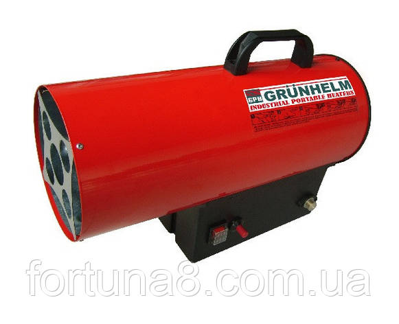 Газовий нагрівач GGH-50- 50 кВт, 1450 м. куб/год, газ пропан-бутан, витрата палива 4.29 кг/год, вага 13.0 кг , фото 2