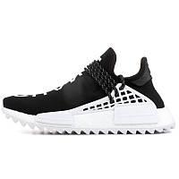 Кроссовки мужские Adidas Human Race NMD x Pharrell Williams (черные) Top replic