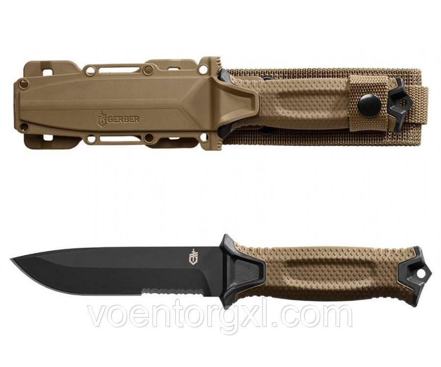 Нож Gerber STRONGARM Fixed Blade (серрейтор)