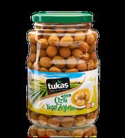 Оливки CIZIK YESIL ZEYTIN (оливки зеленые надрезанные), 1700g/1000g, ТМ TUKAS, фото 1