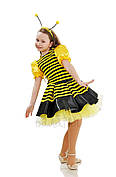 Костюм пчелки с юбкой-пачкой