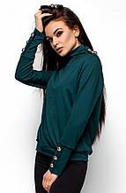 L (46-48) / Стильный женский свитшоты Evans, темно-зеленый