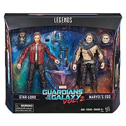 """Фігурки Зоряний Лорд і Его """"Вартові Галактики 2"""" - Star-Lord&Ego, Guardians of the Galaxy2, Legends, Hasbro"""