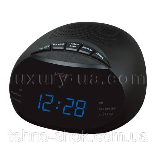 Часы сетевые 901-5 синие
