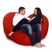 Мягкий диван Сердце 70 / 140 см.