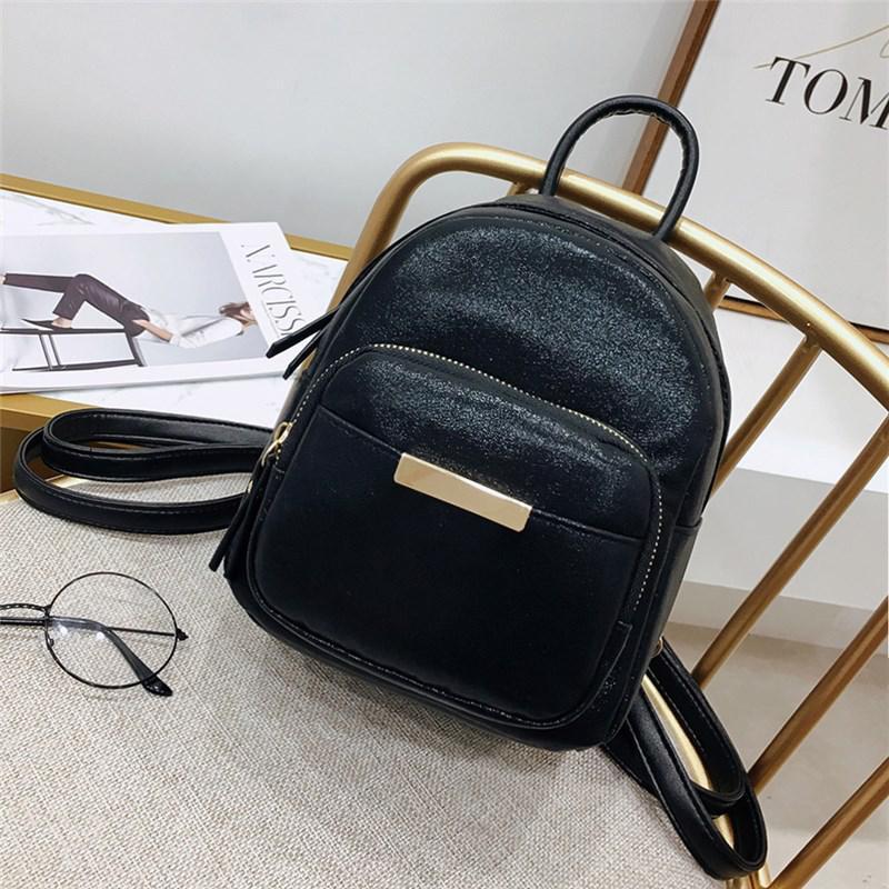 Черный рюкзачок