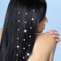 Набор блестящих камней для волос