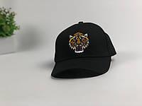 Кепка бейсболка Gucci Тигр (черная)