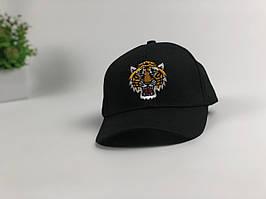 Кепка бейсболка Gucci Тигр (черный)