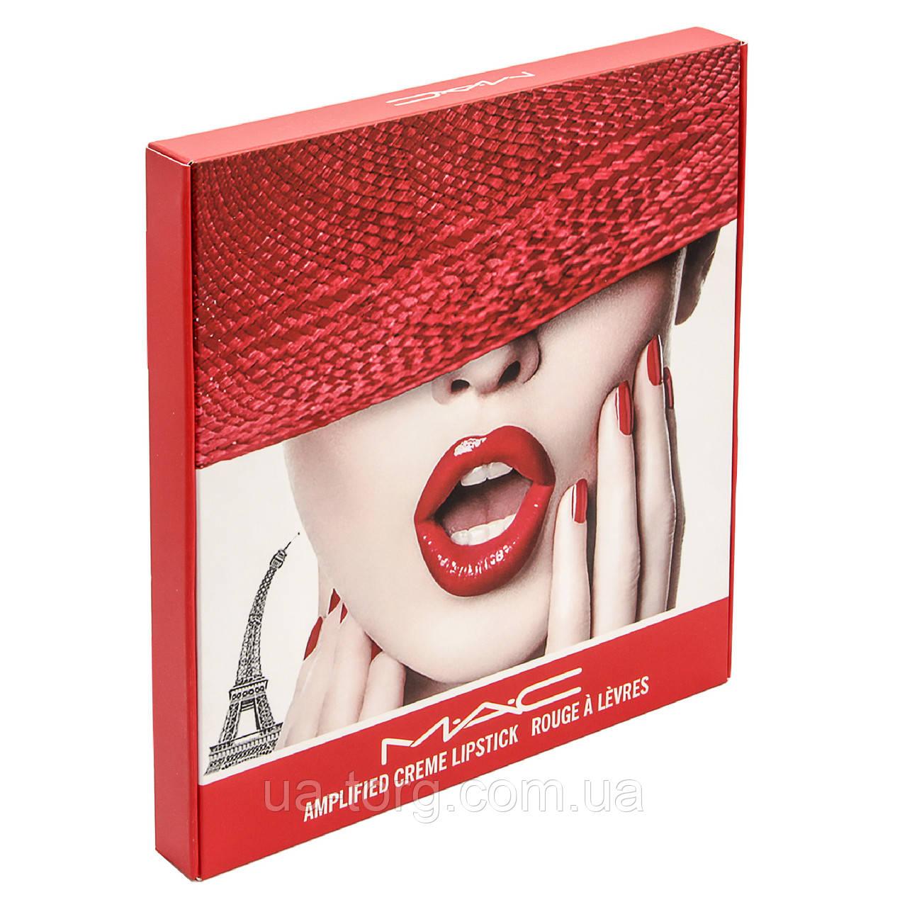 Набор помад для губ MAC Amplified  Lipstick Rouge a Levres