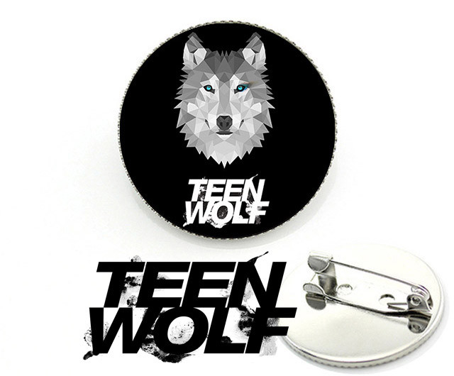 значок teen wolf