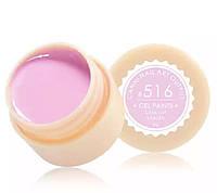 Гель-краска CANNI 516 (пастельный, лилово-розовый), 5 мл