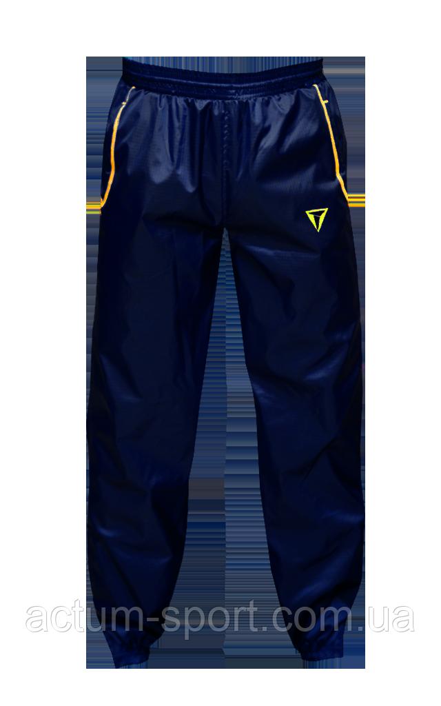 Ветрозащитные штаны Dinamo Titar Темно-сине/желтый, XL