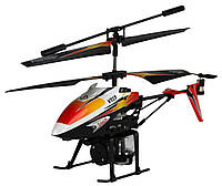 Вертоліт 3-до мікро та/до WL Toys V319 SPRAY водяна гармата (помаранчевий), фото 1