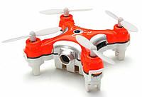 Квадрокоптер нано р/у Cheerson CX-10C з камерою (помаранчевий), фото 1