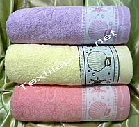 Махровые полотенца сауна Gulcan 150*90 Турция