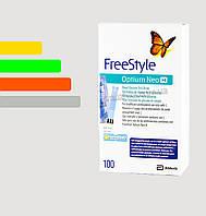Полоски для глюкометра Фристайл Оптиум №100 - Freestyle Optium