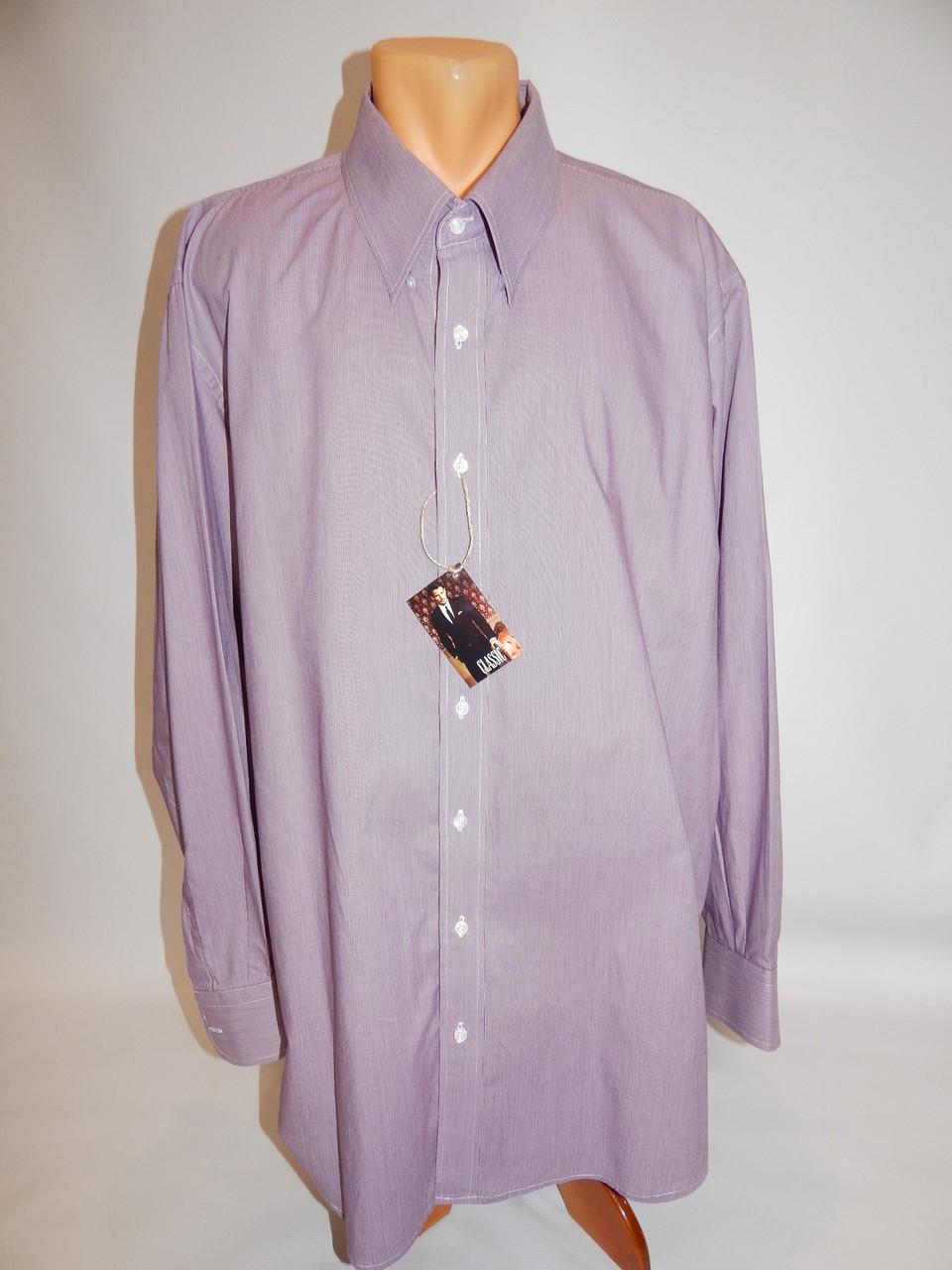 Мужская рубашка с длинным рукавом  068ДР р.58