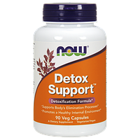 Препарат для очищения организма NOW Detox Support (90 капс)