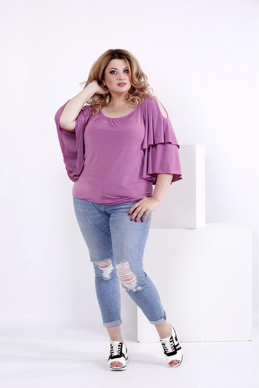 8fd47cc0c59 Я-Модна - купить Женская блузка летучая мышь 0856   размер 42-74 ...