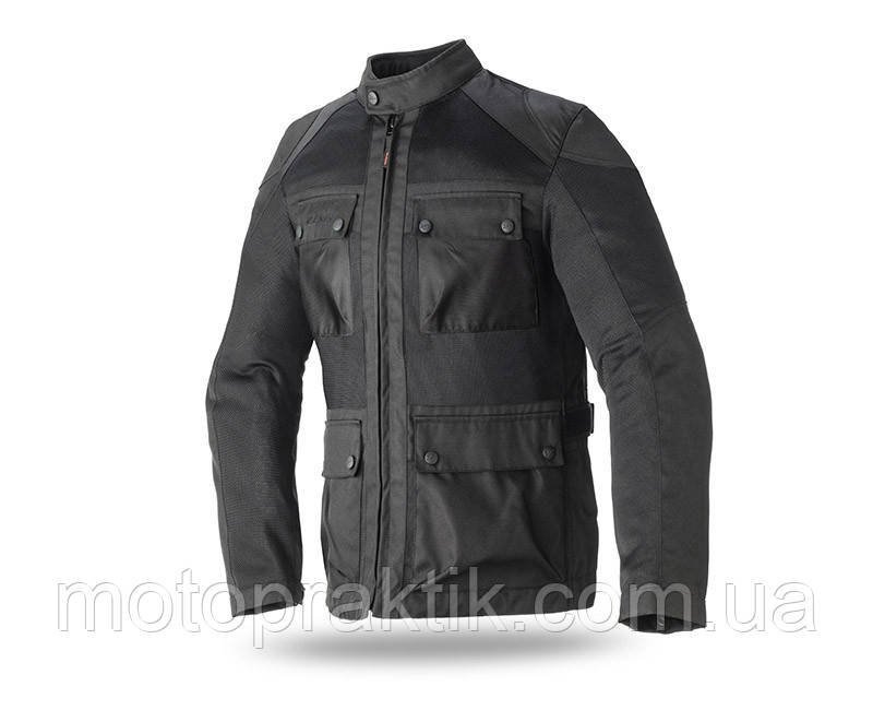 Seventy Jacket SD-JC30, Black, S Мотокуртка текстильная летняя