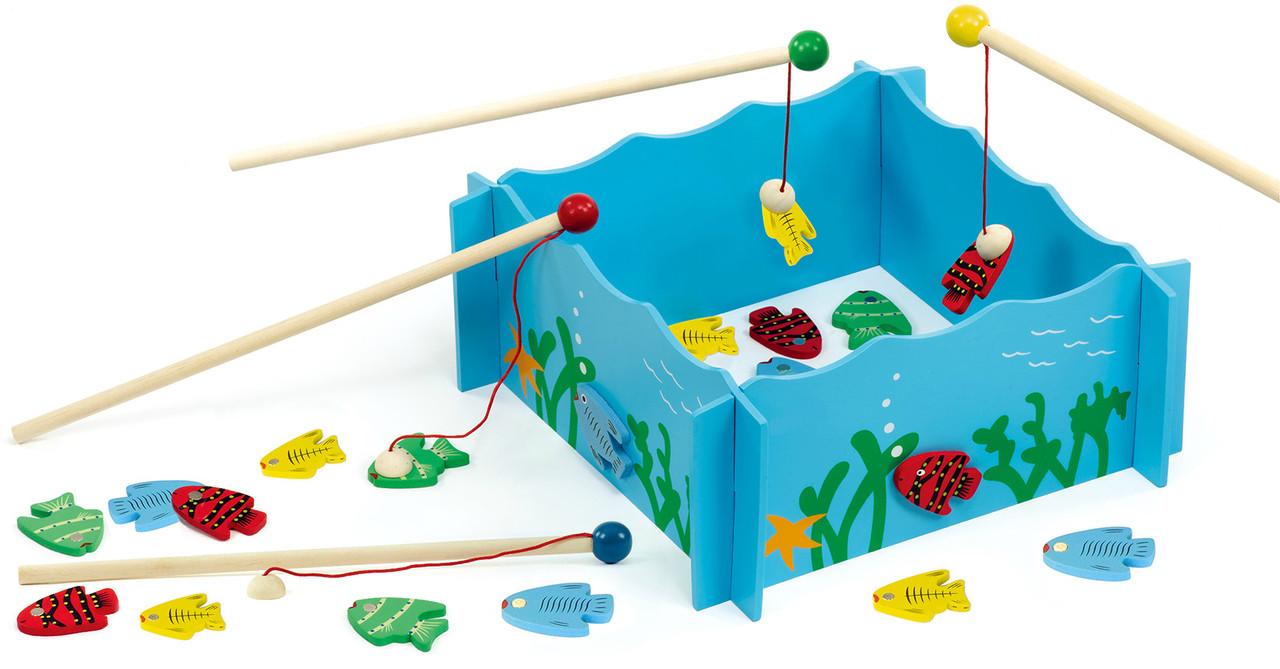 Магнитный игровой набор Рыбалка Viga toys (56305)