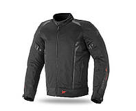 Seventy Jacket SD-JT32, Black/Grey, S Мотокуртка текстильная летняя