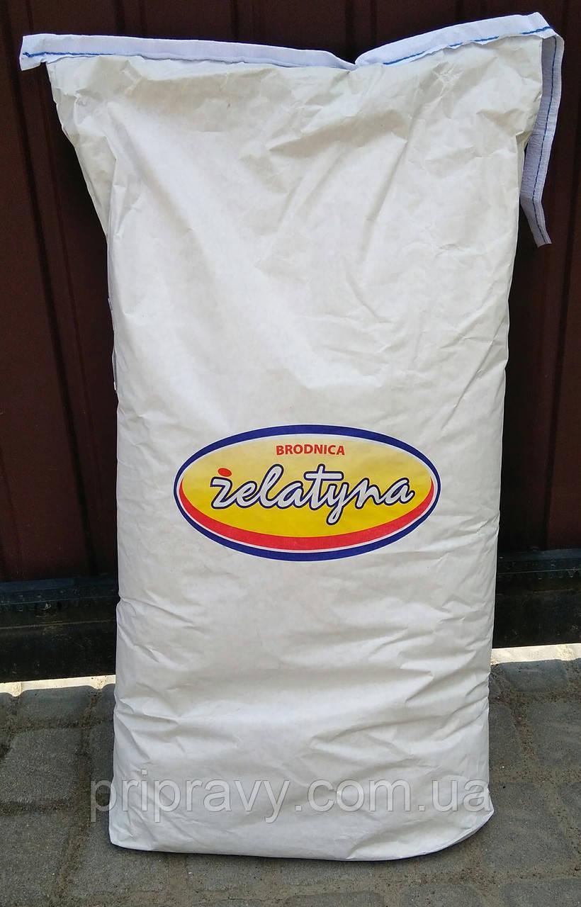 Желатин пищевой 180 bloom, эквивалент П11, Brodnica, 25 кг