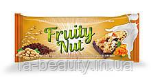 Дизайн упаковки / этикетки шоколадного батончика / конфет Fruity Nut Курага
