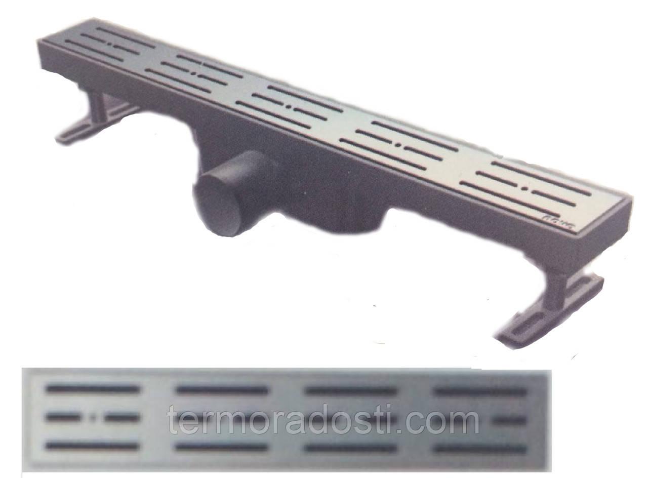Душевой канал Nova 5100(001)N (длина 20 см.,горизонтальный выход, D 50)