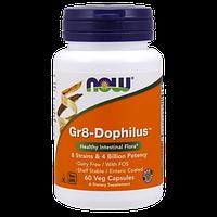 Препарат для поддержания иммунной системы NOW Gr8-Dophilus (60 капс)
