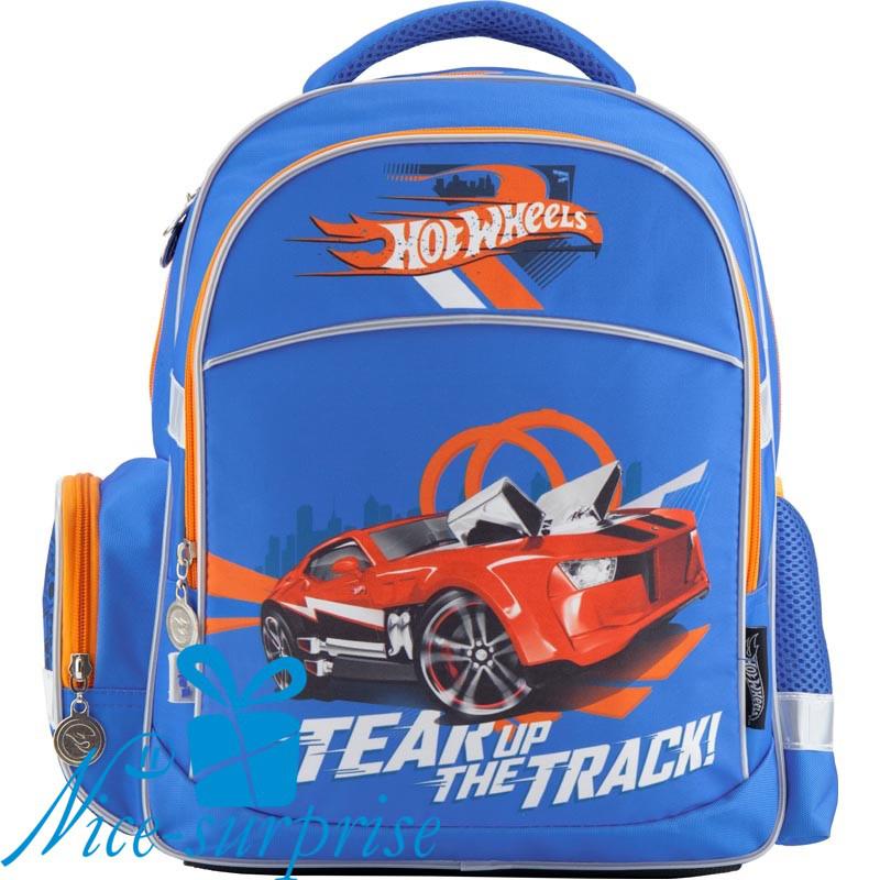 1c9ecde24bcd Ортопедический школьный рюкзак для мальчика Kite Hot Wheels HW18-510S -  Интернет-магазин подарков