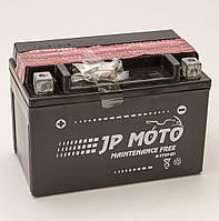 Аккумулятор мотоциклетный JP Moto 8Ah-12v YTX9-BS , 12В 8Ач, EN120А