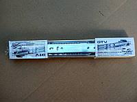 Направляющая шариковая GTV с доводчиком 45мм, 550мм  , к-т