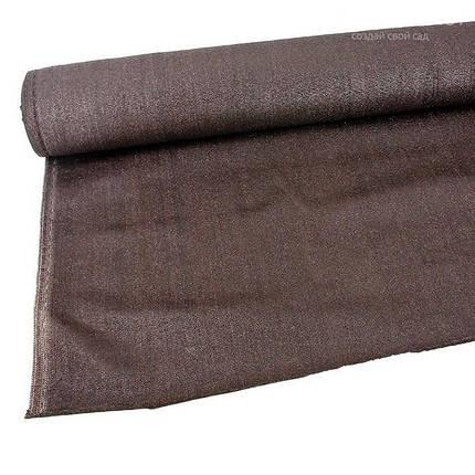 Затеняющая сетка Extranet 80% коричневая 2х50м, фото 2