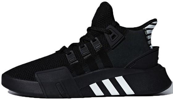"""Мужскиекроссовки adidas EQT BASK ADV """"Black"""" (Адидас Эквипмент) черные"""