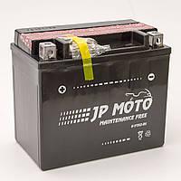 Аккумулятор мотоциклетный JP Moto 10Ah-12v YTX12-BS , 12В, 10Ач, EN180А