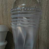 Склянку з купольної кришкою 500 мл., фото 1