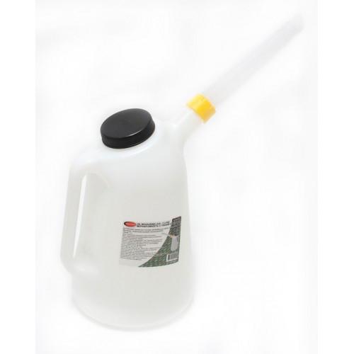 Емкость мерная пластиковая для заливки масла 3л
