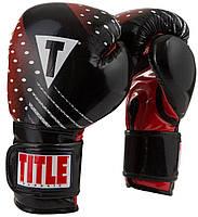 Боксерские перчатки Title Classic C-Charged Training Gloves (черный)